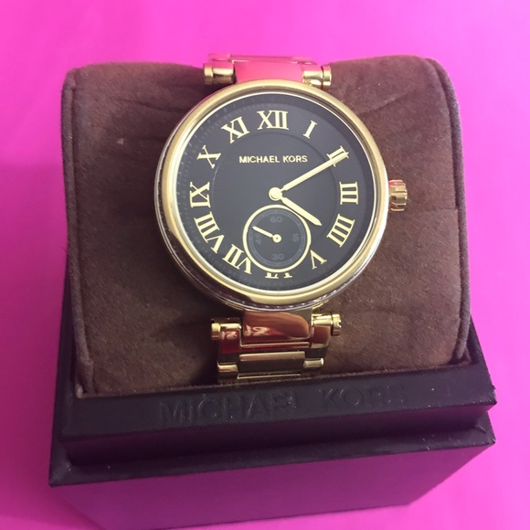 Michael Kors Jewelry - Micheal Kors Skylar Black watch